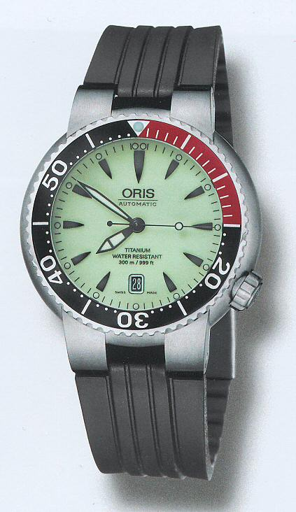 This Band Fits Any Oris Tt1 Anium Case Diver Models